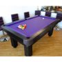 PurpleClothRusticPoolTable