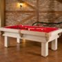 RedClothRusticPoolTable