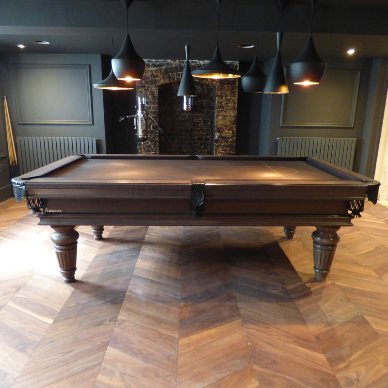 Traditional Pool Or Snooker Table Pooltablesch - Luxury billiards table